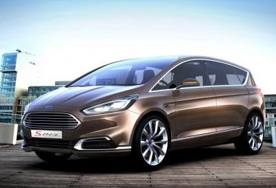 Ford, la nuova S-MAX Concept